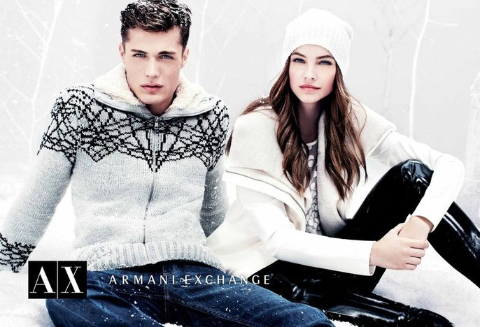 armani exchange winter 2012
