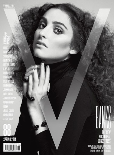 photograph V Magazine's Music Issue with up and coming singers Banks ...